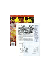 Southern Living Magazine Featured Plan Jan 2003